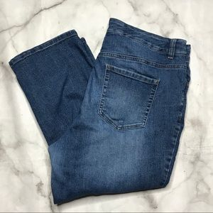 💥 Terra & Sky boyfriend Capri jeans 14W